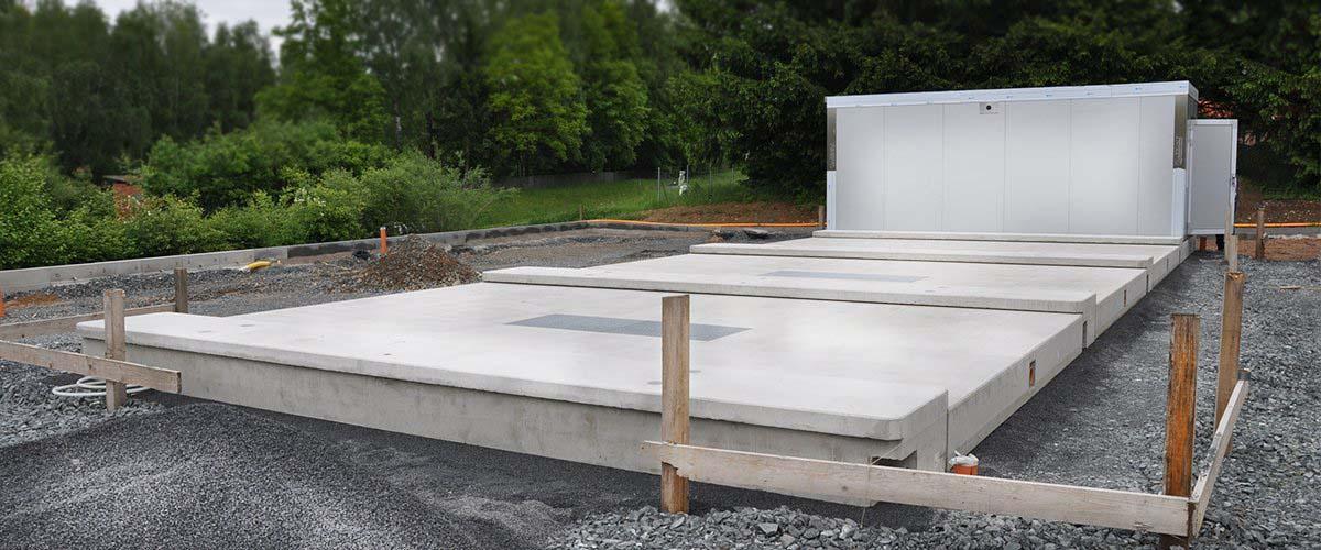 Beton-Fertigteil-Waschplatten
