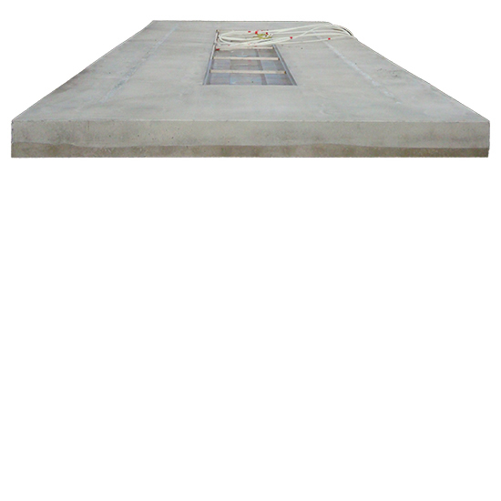 EHRLE Beton Fertigteil Waschplatten