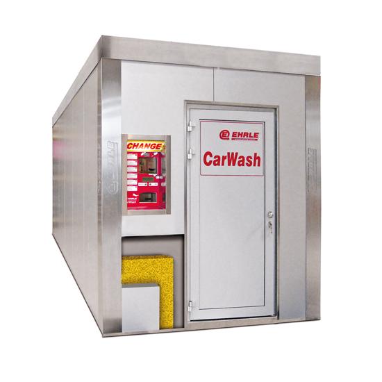 Edelstahl Sandwich Technik Container mit Wärmedämmung
